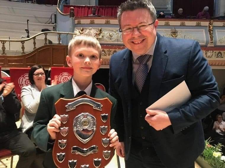 Thomas receives youngest player award